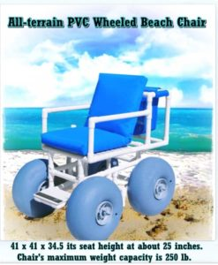 Wheeled Beach Chair