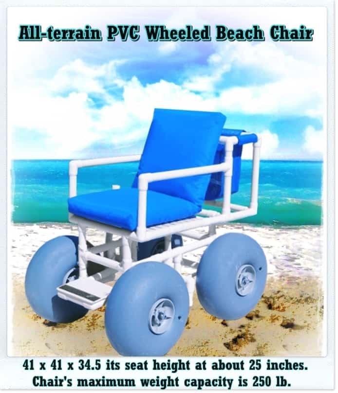 Wheeled Beach Chair