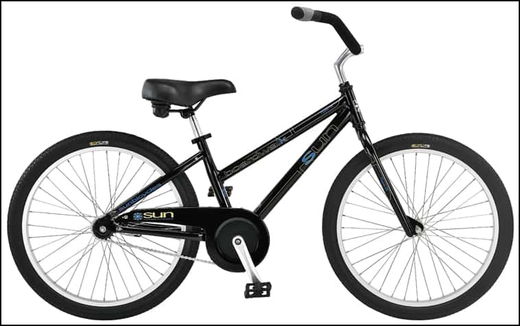 2 Wheel Beach Cruiser - Adult with Baby Seat